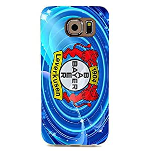 Bayer 04 Leverkusen Phone Case Retro Football Club Team Logo 3D Bayer 04 Phone Case for Samsung Galaxy S6 Edge