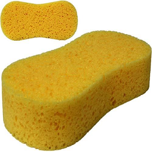 Radami 2 x Autoschwamm Waschschwamm Jumbo Schwamm Putzschwamm Autopflege Felgen Lack Reinigung