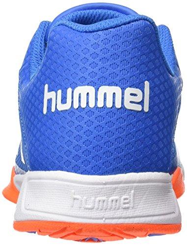 Hummel Adult Blau Schwarz Hallenschuhe Skydiver Play Unisex Erwachsene Root PrpPRa