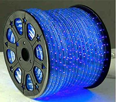 BLUE 12 V Volts DC LED Rope Lights Auto Lighting 8 Meters(26.2 Feet)