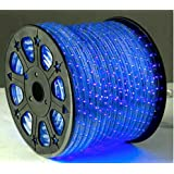 Amazon brilliant 120 volt led rope light versatile durable blue 12 volts dc led rope lights auto lighting 15 meters492 feet aloadofball Images