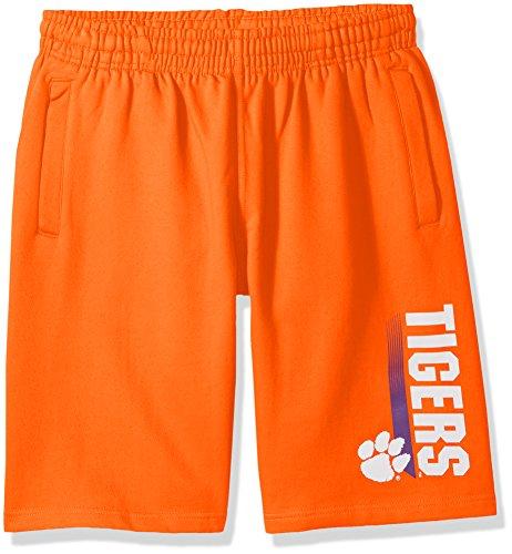 Tigers Fleece (NCAA Clemson Tigers CVC Fleece Shorts, Orange, Medium)