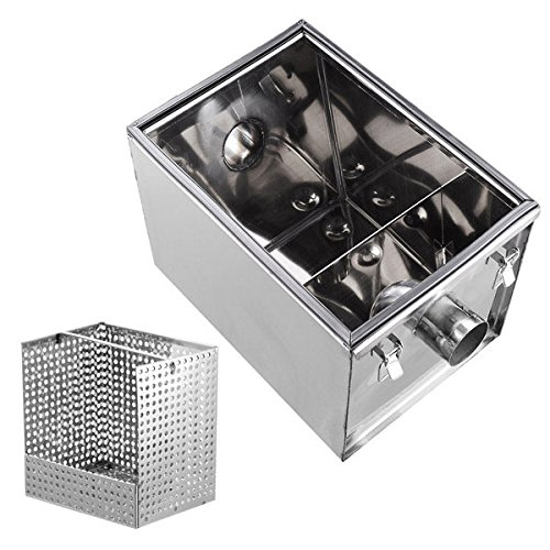 KOVAL INC.- Grease Trap Interceptor 8 lb 5GPM Converter Stainless Steel by KOVAL INC. (Image #3)