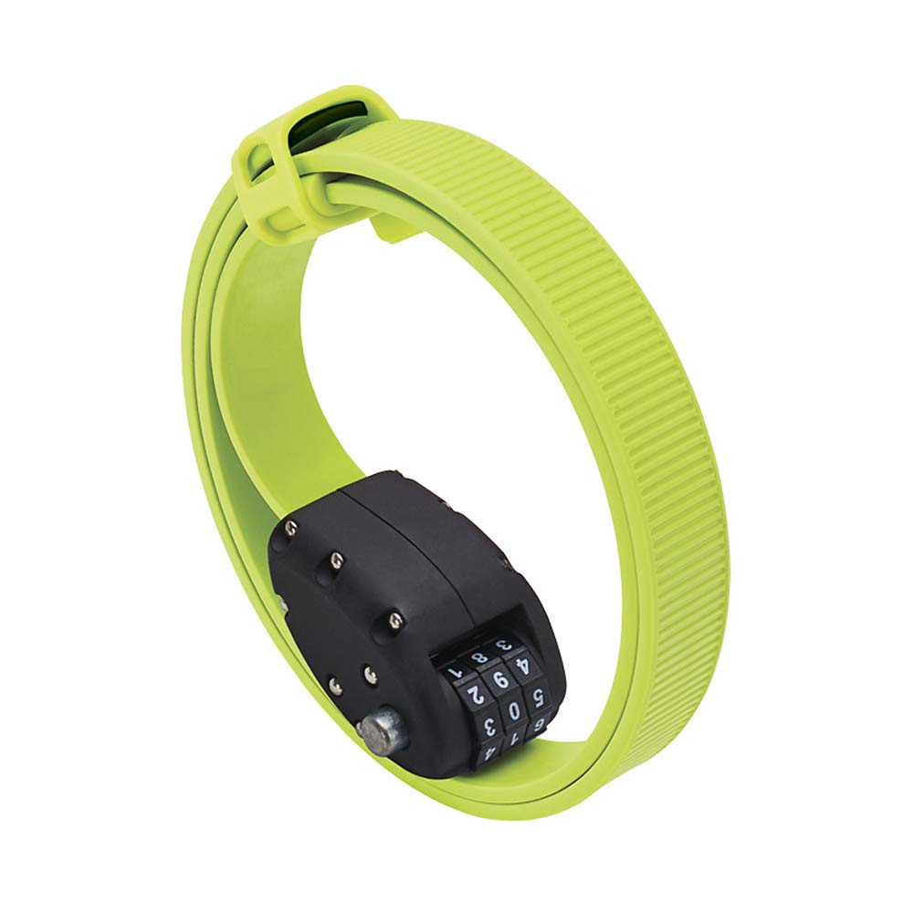 OTTO OTTOLOCK Cinch 30in Combo Lock Flash Green, 30in