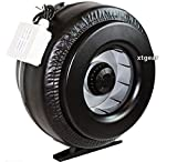 USA Premium Store New 12'' Inline 1200CFM Duct Fan Vent Exhaust Air Cooled Hydroponic Fan Blower