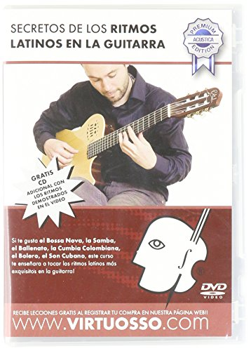 Virtuosso Latin Rhythms Method for Acoustic Guitar (Curso De Guitarra Acústica Ritmos Latinos) SPANISH ONLY by Virtuosso
