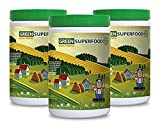 Product review for immune support vitamins - GREEN SUPERFOOD NATURAL PINEAPPLE (POWDER 10.6 OZ) - antioxidant natural greens - 3 Bottles (900G)