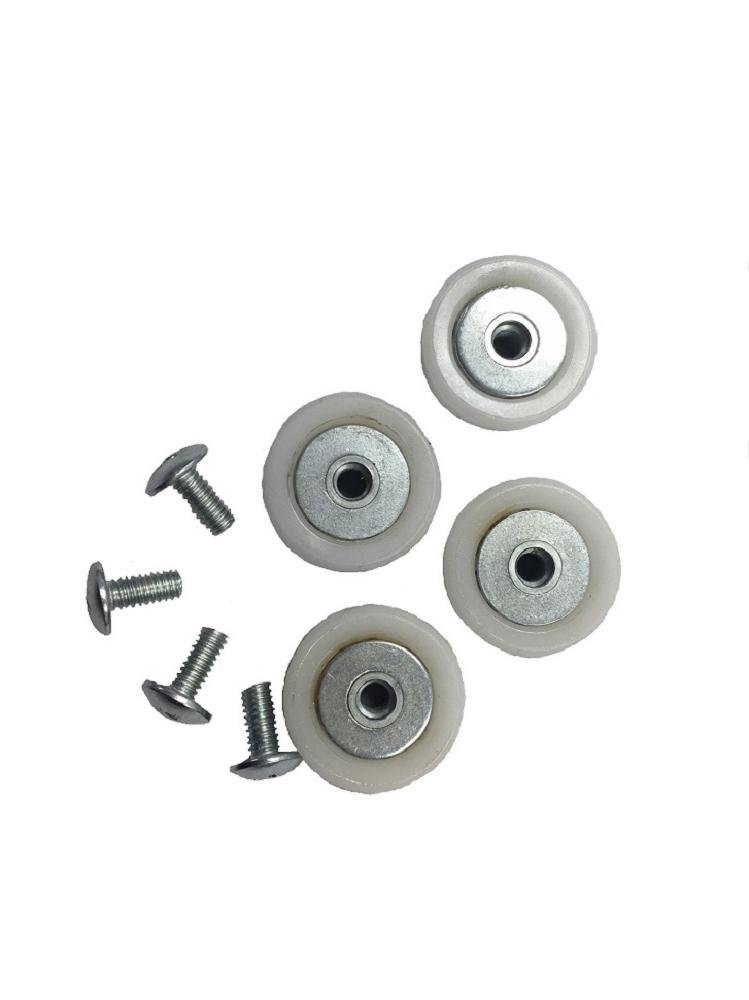 Light Rail Trolley Wheel Replacement Kit, Robotic Grow Light Mover Genuine Fits LightRail 3.5 or LightRail 4.0