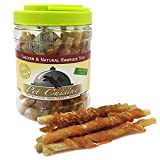 Pet Cuisine Dog Treats Puppy Chews Training Snacks,Chicken & Natural Rawhide Stix,12 oz