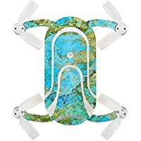 Skin For ZEROTECH Dobby Pocket Drone – Teal Marble | MightySkins Protective, Durable, and Unique Vinyl Decal wrap cover | Easy To Apply, Remove, and Change Styles | Made in the USA