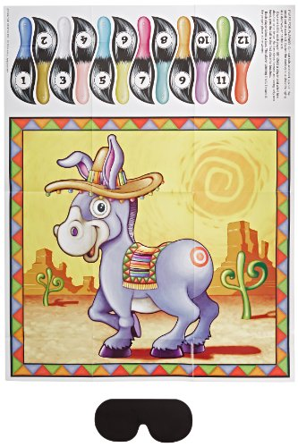 Donkey Game (mask & 12 tails included) Party Accessory  (1 count) (1/Pkg)]()