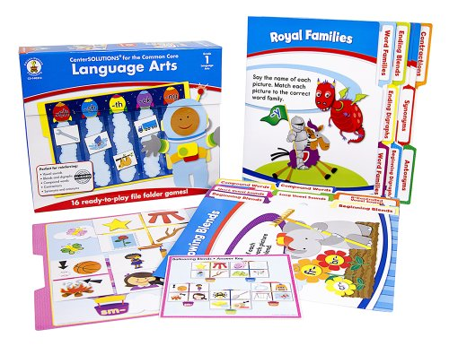 Carson Dellosa Language Arts File Folder Game (140310)]()
