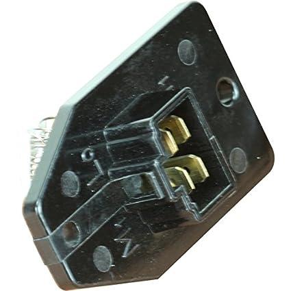 92 accord blower motor resistor location