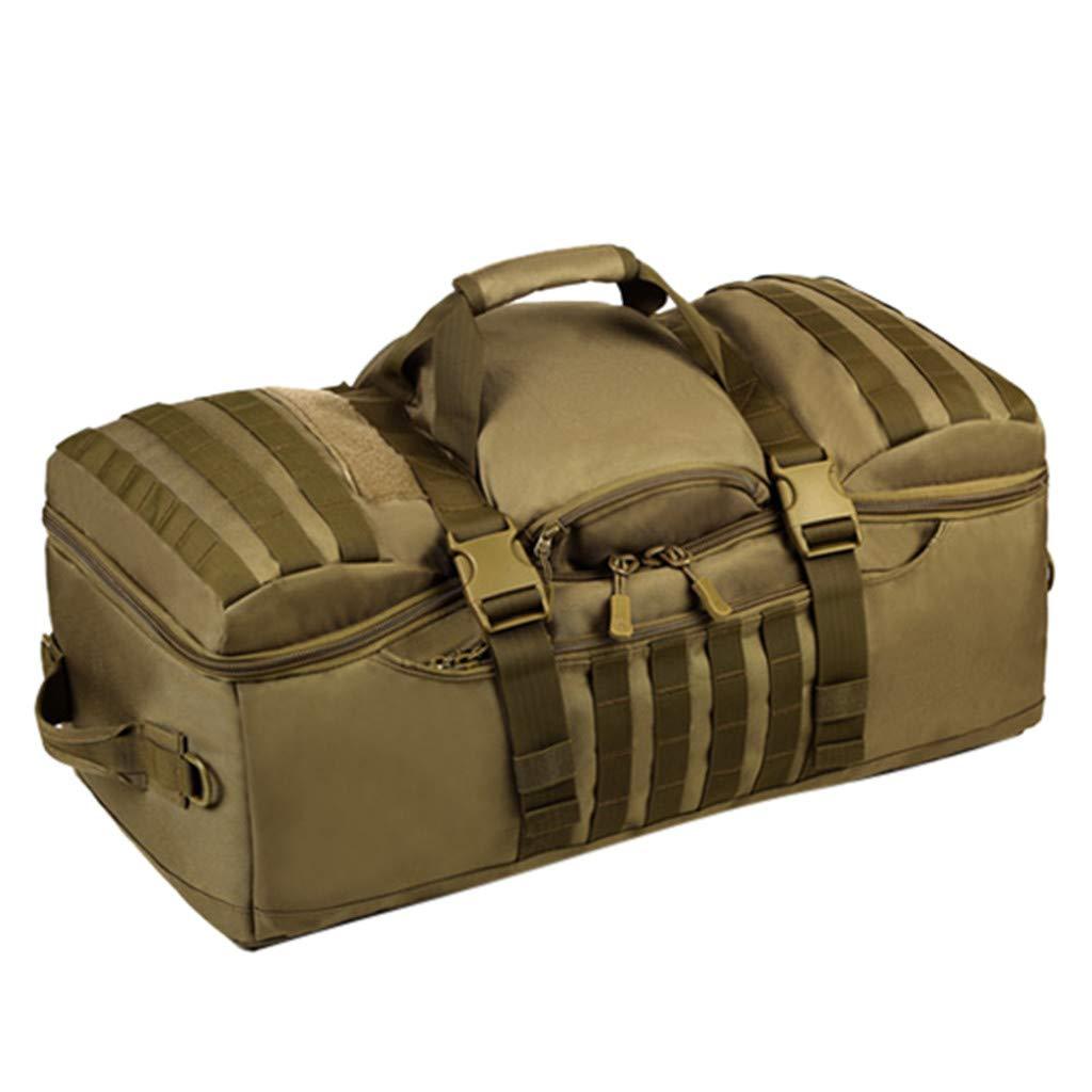 Ecurson Overnight Multi-Purpose Handbag Shoulder Canvas bag//Travel Tote Luggage//Weekender Travel Bag//large Capacity Mountaineering Bag Outdoor Backpack