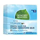Health Household Baby Care Best Deals - Seventh Generation Powder Laundry Concentrated, Free and Clear, 112-Ounce (Packaging May Vary)