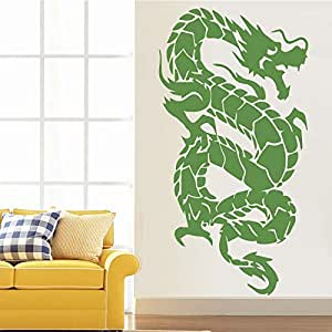 zxddzl Flying Dragon Extraíble Pegatinas de Pared para ...