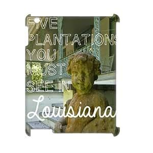 DIY i love louisiana iPad 2/3/4 3D Case, i love louisiana Custom 3D Case for iPad 2,iPad 3,iPad 4 at Lzzcase