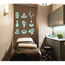 ik2484 Wall Decal Sticker service elements pictures beauty spa salon