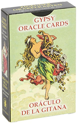 Gypsy Oracle Cards (English and Spanish -