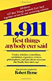 Best Ballantine Books Dictionaries - 1,911 Best Things Anybody Ever Said: Cynics, Scholars Review
