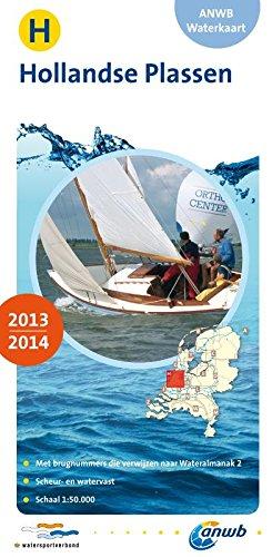 Waterkaart H Hollandse Plassen (ANWB waterkaart (H))