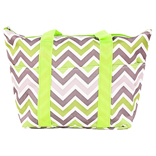 SLM Printed Thermal Insulated Lunch Bag-Chevron