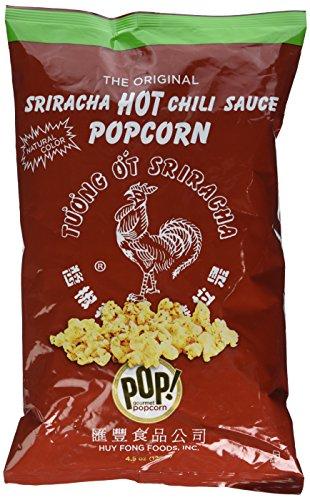 Original Huy Fong Sriracha Popcorn, by POP Gourmet 4.5oz