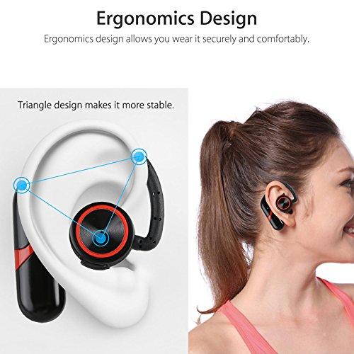 delicate EEEKit Bluetooth Wireless Headset, Waterproof Ear