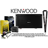 Kenwood OEM Integration Amplifier w/ 192/32bit DSP with Universal Amplifier Replacement Interface and T Harness for Select Chrysler, Dodge, Fiat, and RAM Vehicles