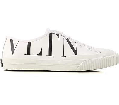 fff7b337e01a0 VALENTINO GARAVANI Men's Trainers White Bianco: Amazon.co.uk: Shoes ...
