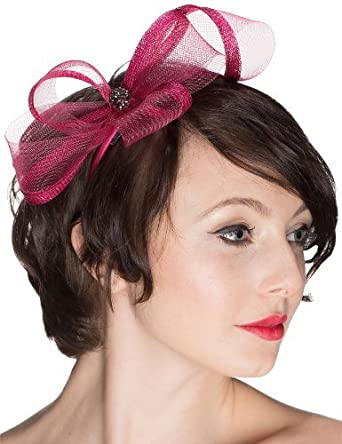 d72f9f3785f92 Ladies Pink Fascinator
