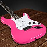 "LyxPro 39"" inch Full Size Electric Guitar with"