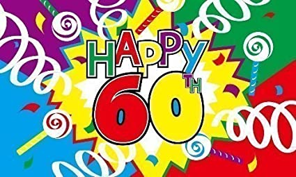 Image Unavailable Not Available For Colour Happy 60th Birthday