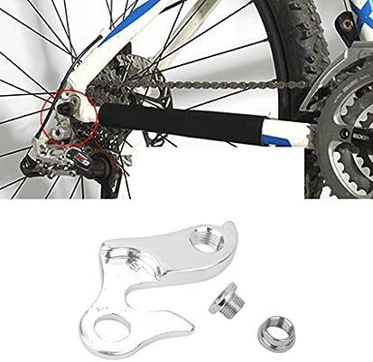 1x Adaptador Desviador Cambio Mech Trasera Aleación De Aluminio Para Bici Bicicleta MTB #1: Amazon.es: Deportes y aire libre