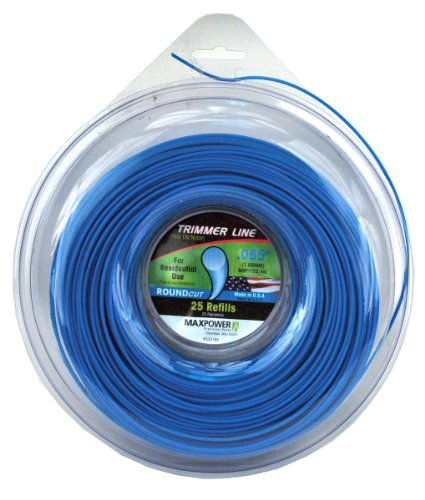 Maxpower 333165 Residential Grade Round .065-Inch Trimmer Line 500-Foot Length (Best 065 Trimmer Line)