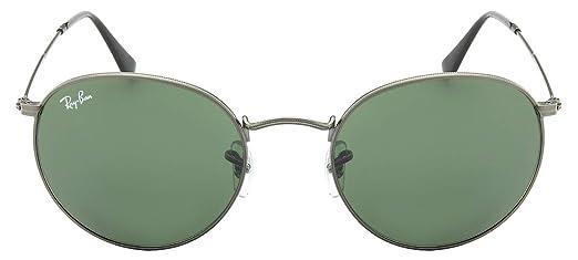 Óculos de Sol Ray Ban Round Metal Rb3447l 29 53 Cinza  Amazon.com.br ... ceabf88960