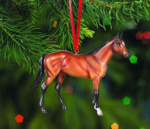 - Breyer Horses 2015 Holiday Beautiful Breeds Ornament - Thoroughbred