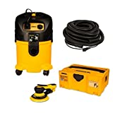 Mirka Deros MID650-912-10 6'' Dust-Free System Kit with 33ft. (10m) Hose