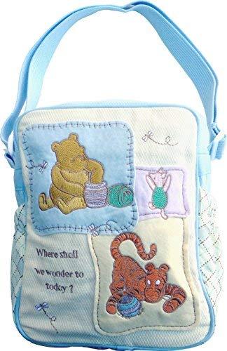 Classic Winnie The Pooh Mini Diaper Bag, Where Shall we Wonder to Today? ()