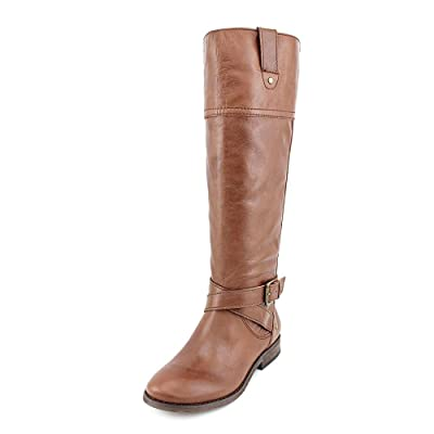 Marc Fisher Womens Amber Closed Toe Leather Fashion Boots