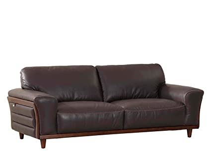 Amazon.com: Blackjack Furniture Montgomery Modern Italian Leather ...