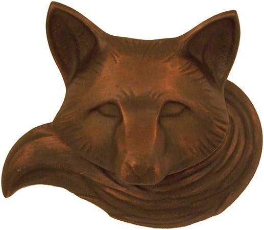 Fox Head Door Knocker Animal Classic Indie Look for Bathroom//Front Doors