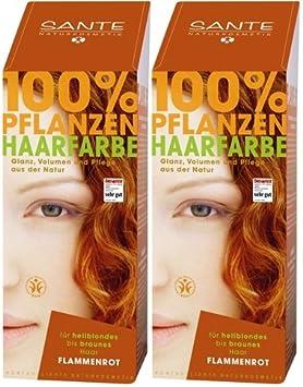 Sante bio – Tinte para el cabello flammenrot 1 x 100 g ...