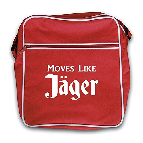 Retro Moves Bag Red Like Moves Flight Jager Red Like Jager HrnwxaqXHT