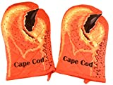 Cape Cod and Martha's Vineyard Oven Mitts - Set of 2 (Cape Cod Lobster)