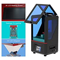"ANYCUBIC Photon UV LCD 3D Printer Assembled Innovation with 2.8'' Smart Touch Color Screen Off-line Print 4.53""(L) x 2.56""(W) x 6.1""(H) Printing Size from Anycubic"
