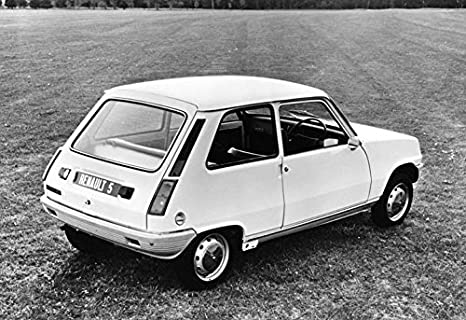 1975 Renault 5 Factory Photo