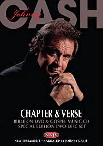 Johnny Cash - Chapter & Verse - Bible on DVD & Gospel Music CD - Special Edition (CD/DVD Set)