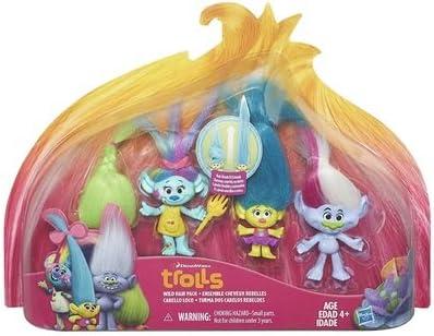 "Dream works Trolls Kids Collectable Figure FUN Girls Toy 4/"" UK SELLER # 1"