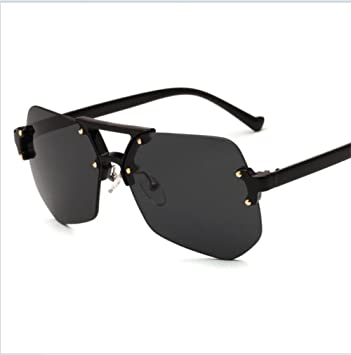 Sonnenbrille UV400 bewertet Sonnenbrille Anti Glare Ebony Rahmen s19Ww7SEUm